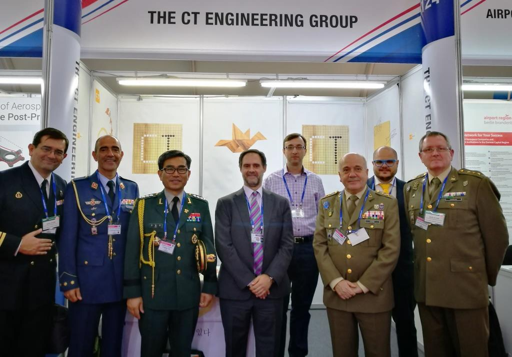 The CT Engineering Group, at the Seoul International Aerospace & Defense Exhibition 2017