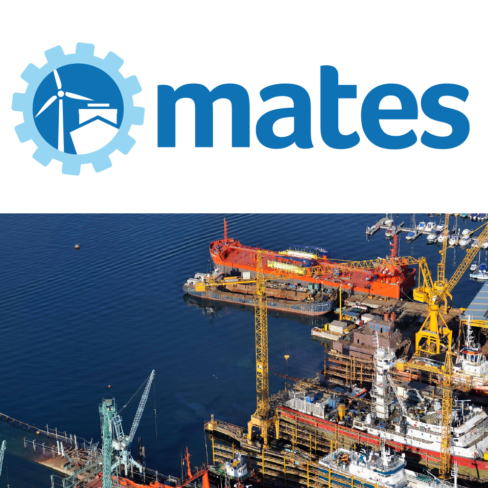 CT in the European Consortium MATES on training in the marine technology sector