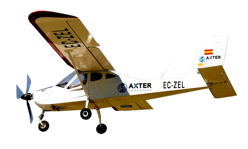CT & Axter Aerospace to Obtain 100% Electric Demonstrator Aircraft